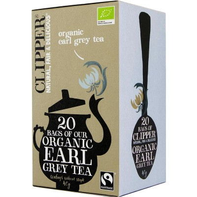 Clipper Earl grey tea bio