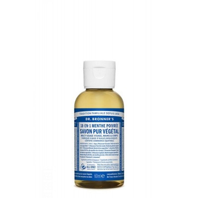 DR Bronners Liquid soap peppermint
