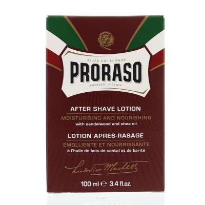 Proraso Aftershave lotion sandelwood