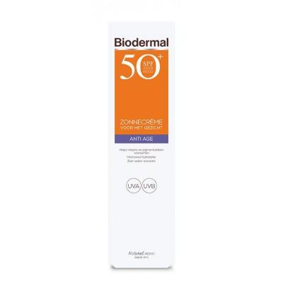 Biodermal Anti age creme gezicht SPF50+