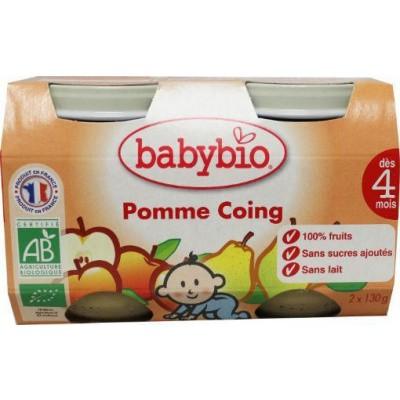 Babybio Dessert appel peer 130 gram