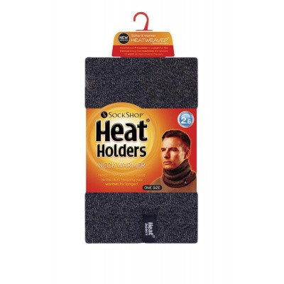 Heat Holders Mens neck warmer navy one size