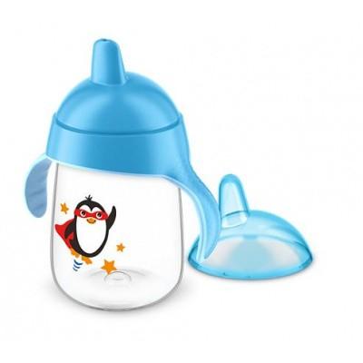 Avent Tuitbeker pinguin 18 maand+ blauw