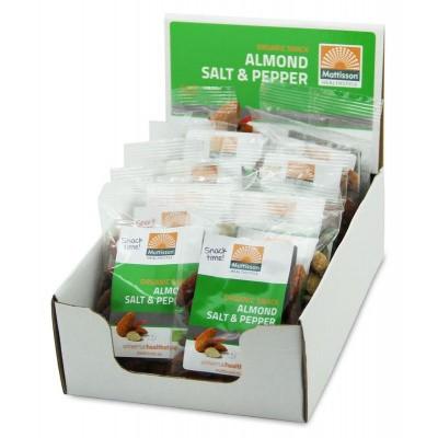Mattisson Amandelen snack salt & pepper 35 gram