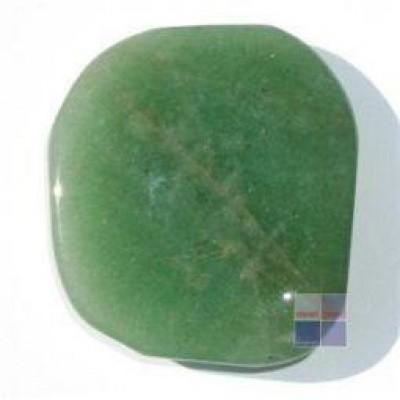 Steengoed Platte stenen aventurijn groen