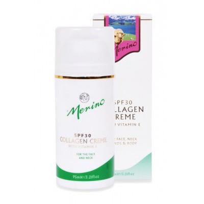 Merino Collagen cream with SPF30