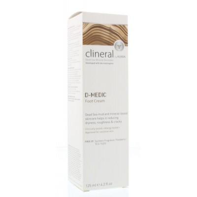 Ahava Clineral D-medic foot cream