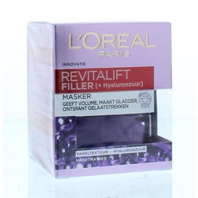 Loreal Revitalift filler mask