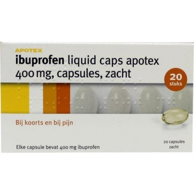 Ibuprofen 400 mg liquid