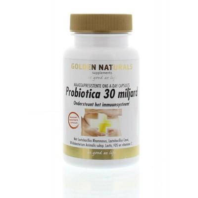 Golden Naturals Probiotica 30 miljard one a day