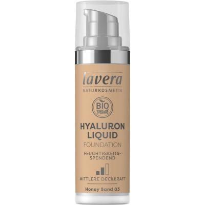 Lavera Liquid foundation hyaluron 03