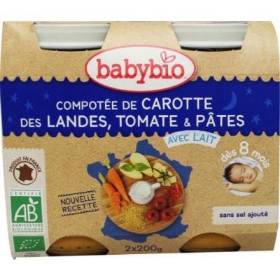 Babybio Groenten pasta 200 gram
