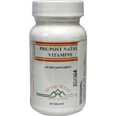 Nutri West Pre post natal vitamins