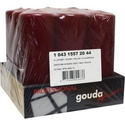 Gouda Stompkaars wijnrood 200/70 tray