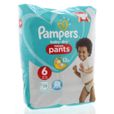 Pampers Baby dry pants maat 6