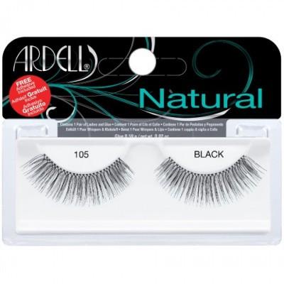 Ardell Kunstwimpers natural 105 zwart