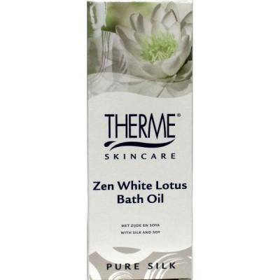 Therme Badolie zen white lotus