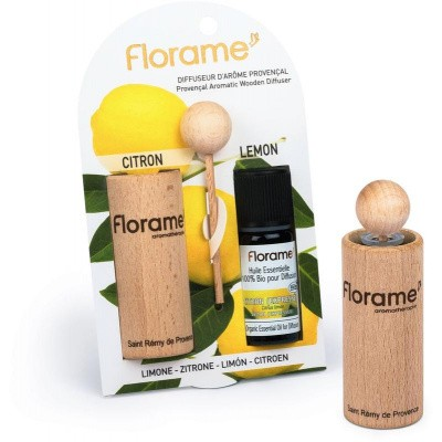 Florame Verstuiver + munt citroen etherische olie bio