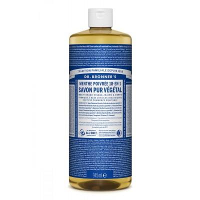 DR Bronners Magic pure castile soap pepermunt