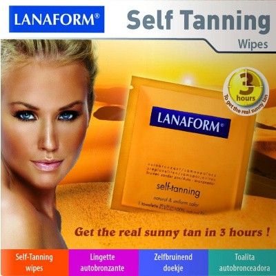 Lanaform Self tanning doekjes
