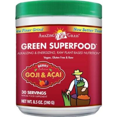 Amazing Grass Berry goji acai green superfood