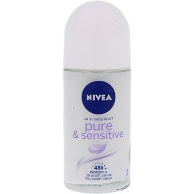 Nivea Deodorant roller sensitive & pure