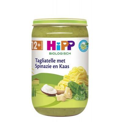 Hipp Tagliatelle met spinazie en kaas