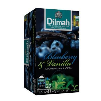 Dilmah Bosbes en vanille thee