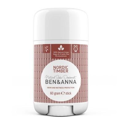 Ben & Anna Natuurlijke deodorant stick nordic timber