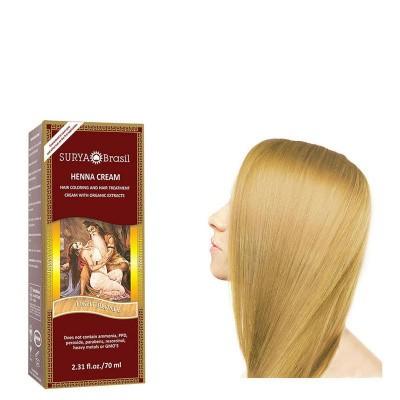 Surya Brasil Henna haarverf creme licht blond