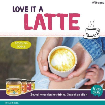 Terrasana Recepten boekje latte B2C