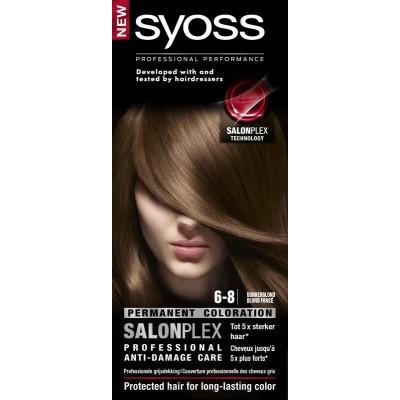 Syoss Color baseline 6-8 donkerblond haarverf