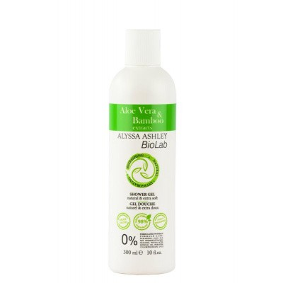 Alyssa Ashley Biolab aloe vera/bamboo shower gel
