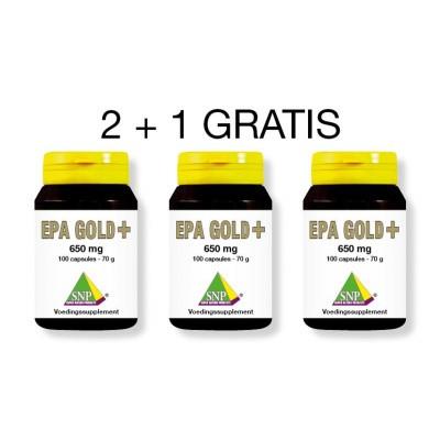 SNP EPA Gold+ aktie 2 + 1 gratis