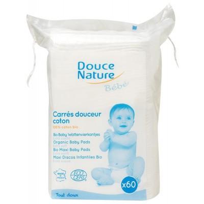 Douce Nature Baby wattenvierkantjes bio