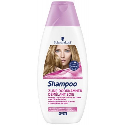 Schwarzkopf Shampoo zijde doorkammer