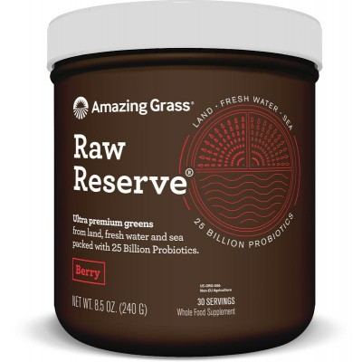 Amazing Grass RAW Reserve berry green superfood
