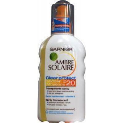 Garnier Ambre solaire clear protect SPF 20 spray