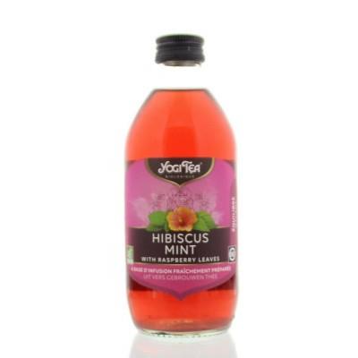 Yogi Tea Cold tea hibiscus mint