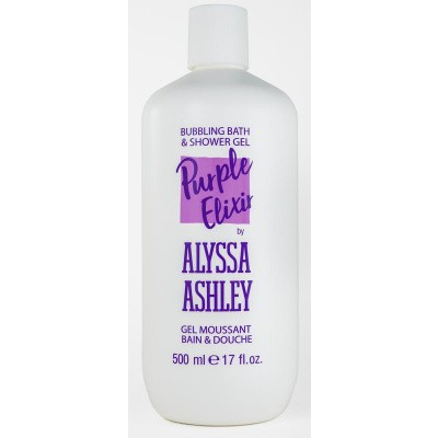 Alyssa Ashley Trendy line purple elixer bath & shower gel