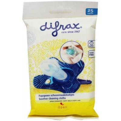 Difrax Fopspeen schoonmaakdoekjes