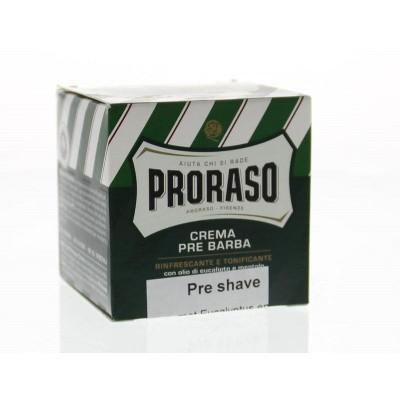 Proraso Preshave creme eucalyptus/menthol