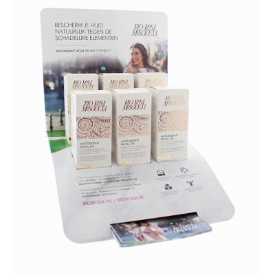 RIO Rosa mosqueta facial oil antixoidant display