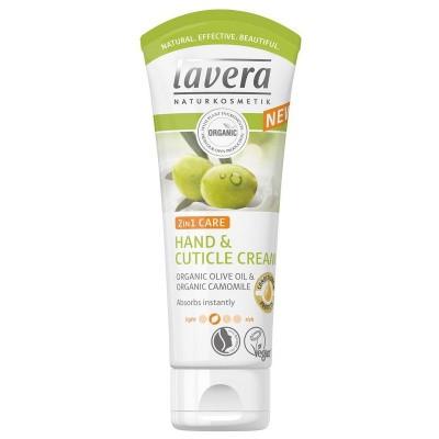 Lavera Hand & nagelcreme/cuticle cream 2 in 1 olive