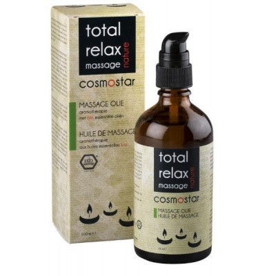 Cosmostar Massage olie total relax smooth stress relief