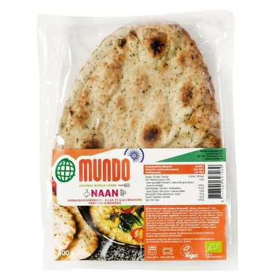 O Mundo Naanbrood knoflook / koriander