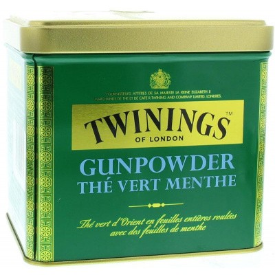 Twinings Gunpowder blik mint