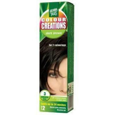 Henna Plus Colour creations 3 dark brown