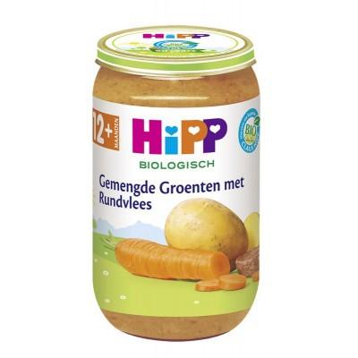 Hipp Gemengde groenten met rundvlees