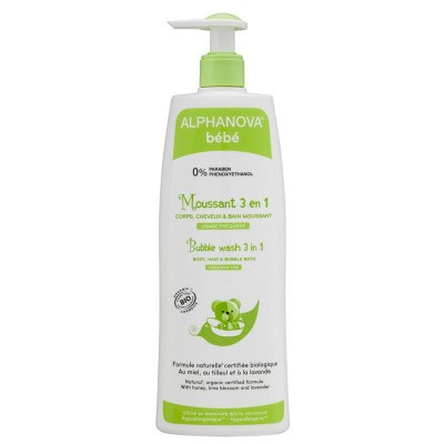 Alphanova Baby Bio bubble wash 3 in 1